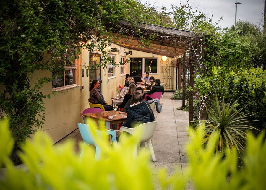 The Railway Cheltenham beer garden thai barbecue food pub restaurant